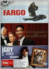 Fargo / Six Degrees Of Separation / Igby Goes Down (3 Disc Set) on DVD