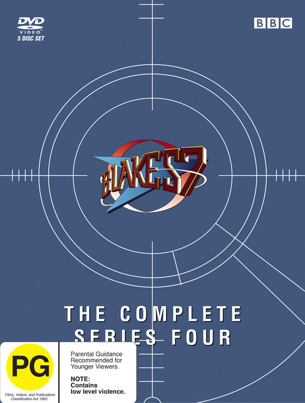 Blake's 7 - Complete Series 4 (5 Disc Box Set) on DVD