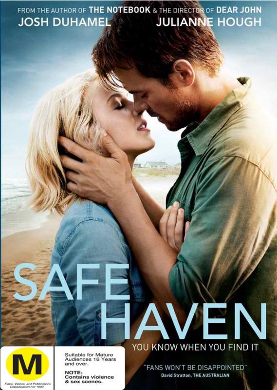 Safe Haven on DVD