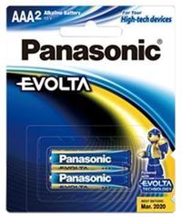 Panasonic Evolta AAA Batteries - 2 Pack