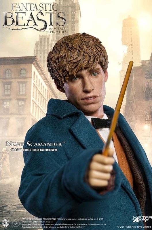Fantastic Beasts: Newt Scamander - 1/6 Scale Figure