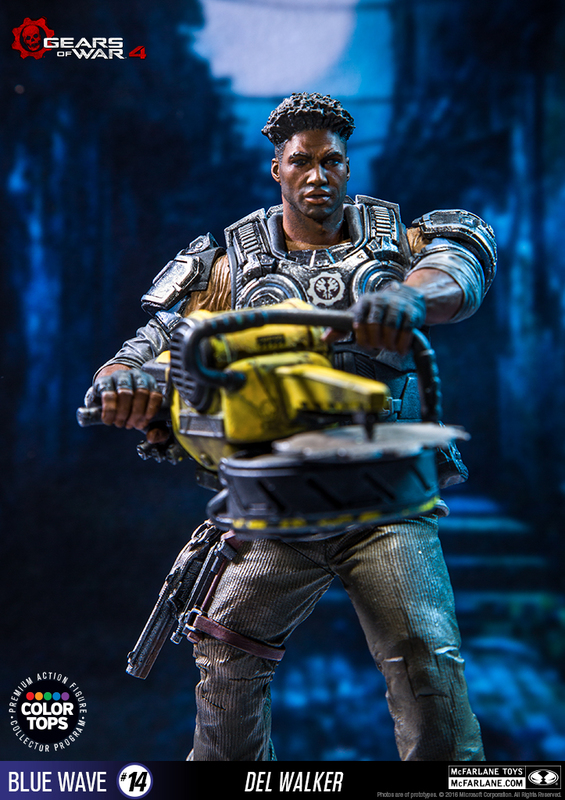 "Gears of War 4: Del Walker - 7"" Action Figure"