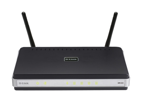 D-LINK Wireless Router with 4-Port 10/100Mbps Switch image