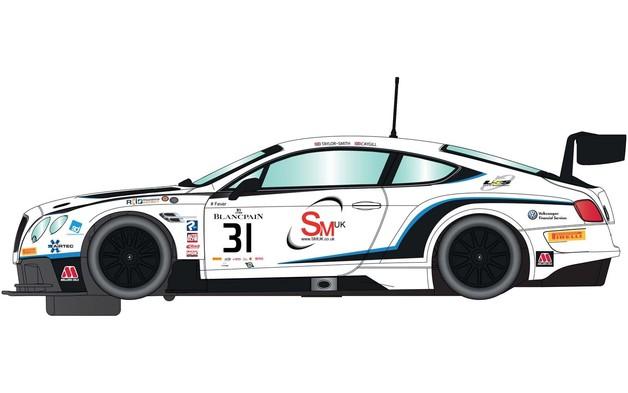 Scalextric: Bentley GT3 #31 - Slot Car