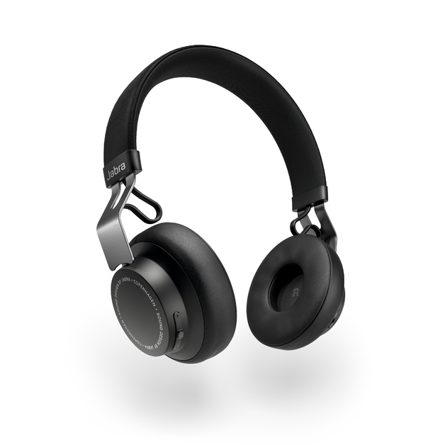 Jabra Move Style Wireless Headphones - Titanium Black