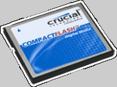 Crucial 4GB Compact Flash Card