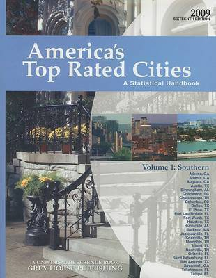 America's Top Rated Cities, Volume 1: Southern: A Statistical Handbook