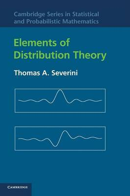 Elements of Distribution Theory by Thomas A. Severini image