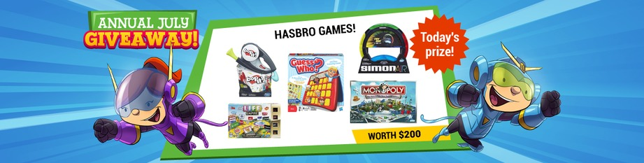 Hasbro Games Pack!
