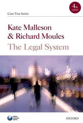 The Legal System by Kate Malleson image