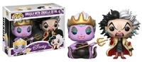 Disney: Ursula with Cruella de Vil Pop! Vinyl 2-Pack