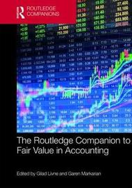 The Routledge Companion to Fair Value in Accounting