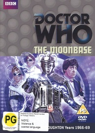 Doctor Who: The Moonbase on DVD image