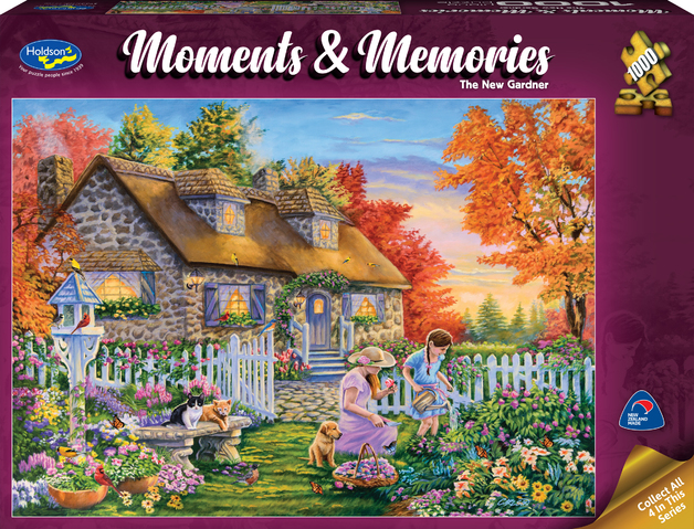 Holdson: 1000 Piece Puzzle - Moments & Memories (The New Gardner)