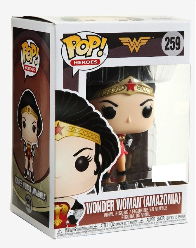 DC Comics: Wonder Woman (Amazonia Ver.) Pop! Vinyl Figure image