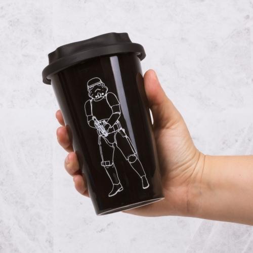 Star Wars: Original Stormtrooper Travel Mug - Black