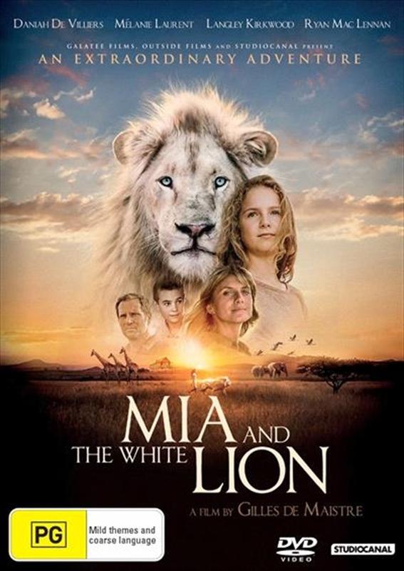 Mia And The White Lion on DVD