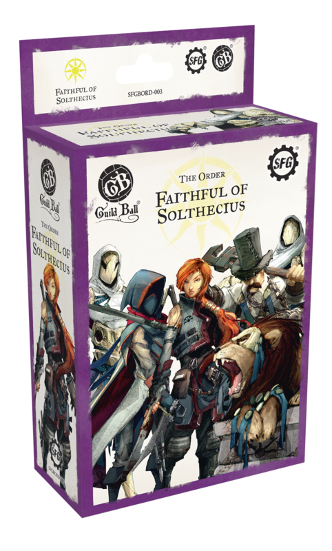 Guild Ball: The Order - Faithful of Solthecius