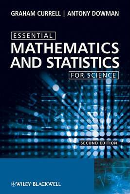 Essential Mathematics and Statistics for Science by Graham Currell image