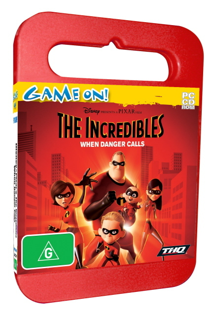The Incredibles When Danger Calls - Toy Case for PC Games