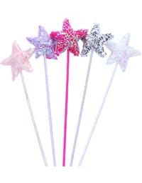 Fairy Girls - Puffy Star Wand (Light Pink)