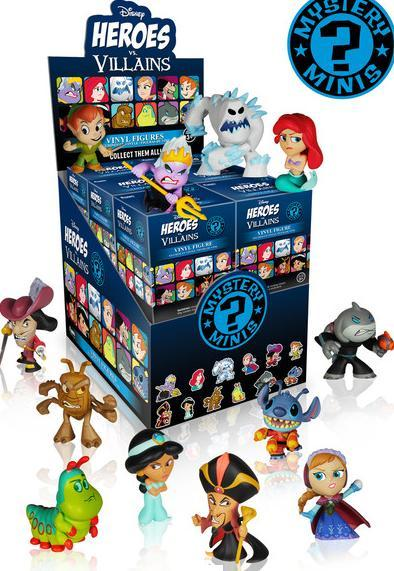 Disney - Heroes & Villains Mystery Minis (Blind Pick)