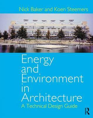 Energy and Environment in Architecture by Nick Baker image