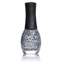 Orly Color Blast Chunky Glitter Nail Color - Silver Holo (11ml)