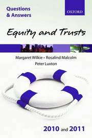 Q&A Equity and Trusts: 2010/2011 by Margaret Wilkie image