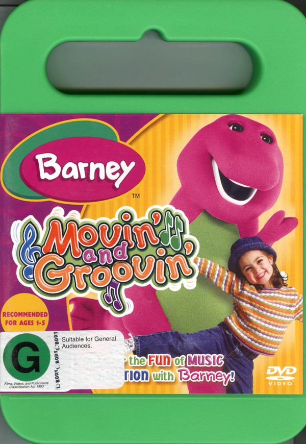 Barney - Movin' And Groovin' on DVD image