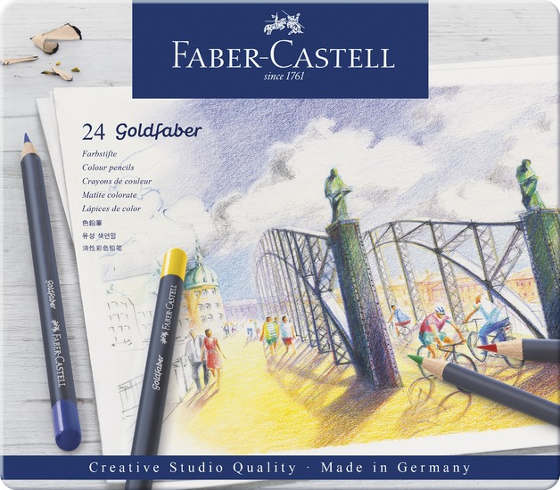 Faber-Castell: Goldfaber (Tin of 24)