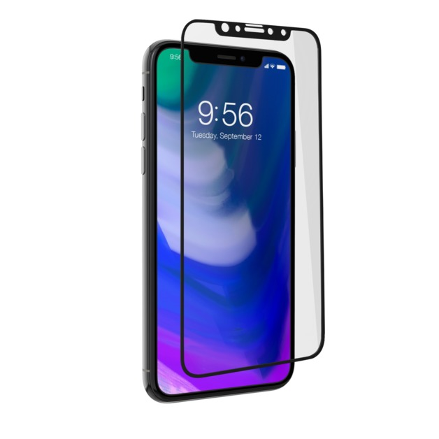 Invisible Shield Glass+ Contour Screen - Black - iPhone X