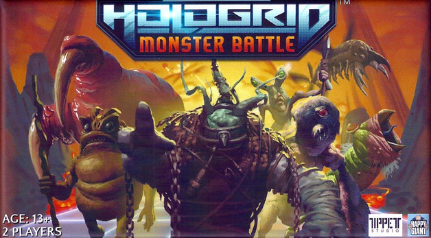 Hologrid: Monster Battle - The AR Card Game