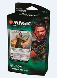 Magic The Gathering: War of the Spark Gideon Planeswalker Deck