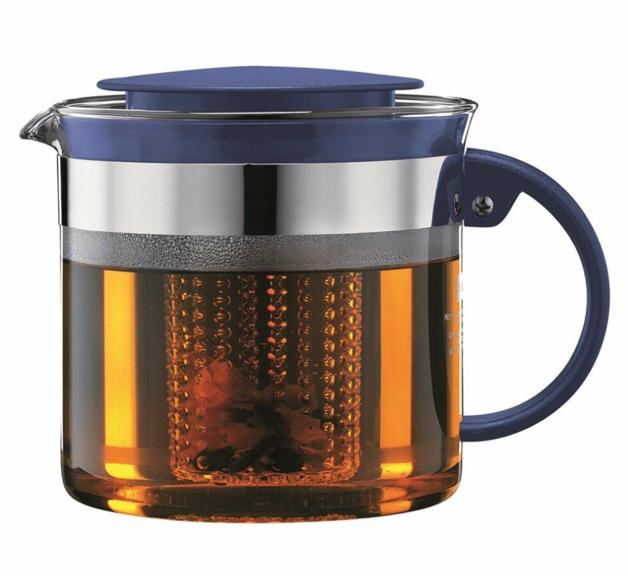 Bistro Nouveau Tea Pot - Blue (1.5L)