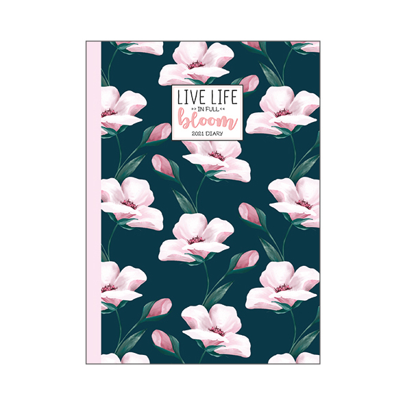 Legami: Mini Photo Weekly 12 Month 2021 Diary - Flowers (8 x 11cm)