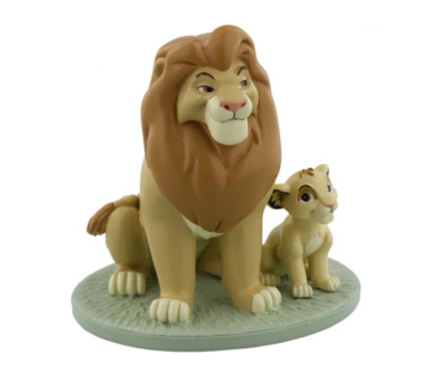 Figurine: Mufasa & Simba 'My Daddy Is King'