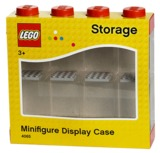 LEGO Minifigure Display Case 8 (Red)