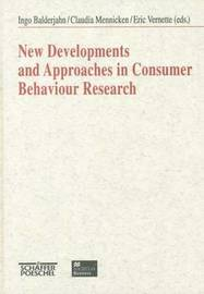 New Developments and Approaches in Consumer Behaviour Research image