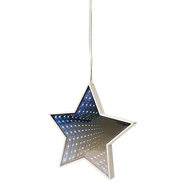 Infinity Light - Hanging Star 20cm