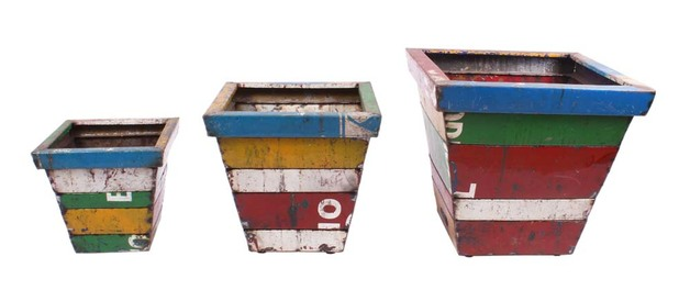 Madrid Planter - Sqaure (Set of 3)