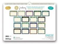 Justina Blakeney: Botanicals 2019 Wall Calendar image