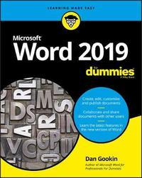 Word 2019 For Dummies by Dan Gookin
