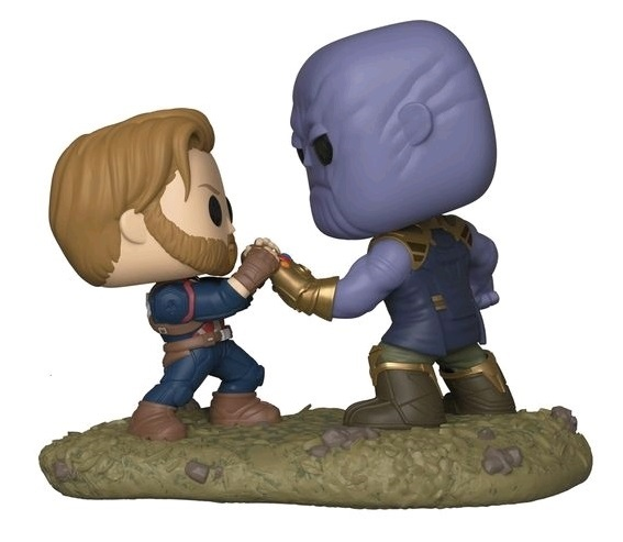 Marvel: Captain America vs Thanos - Pop! Movie Moment Figure