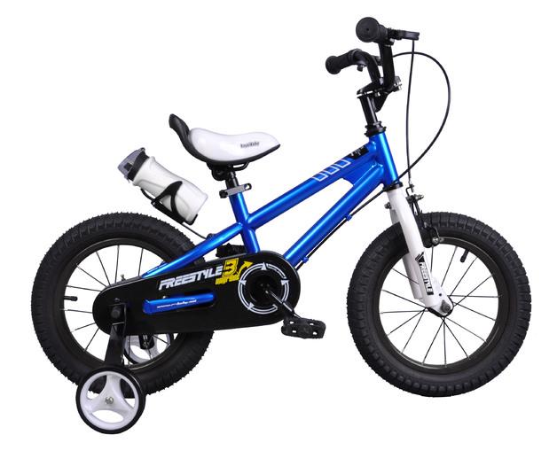 """RoyalBaby: BMX Freestyle - 14"""" Bike (Blue)"""