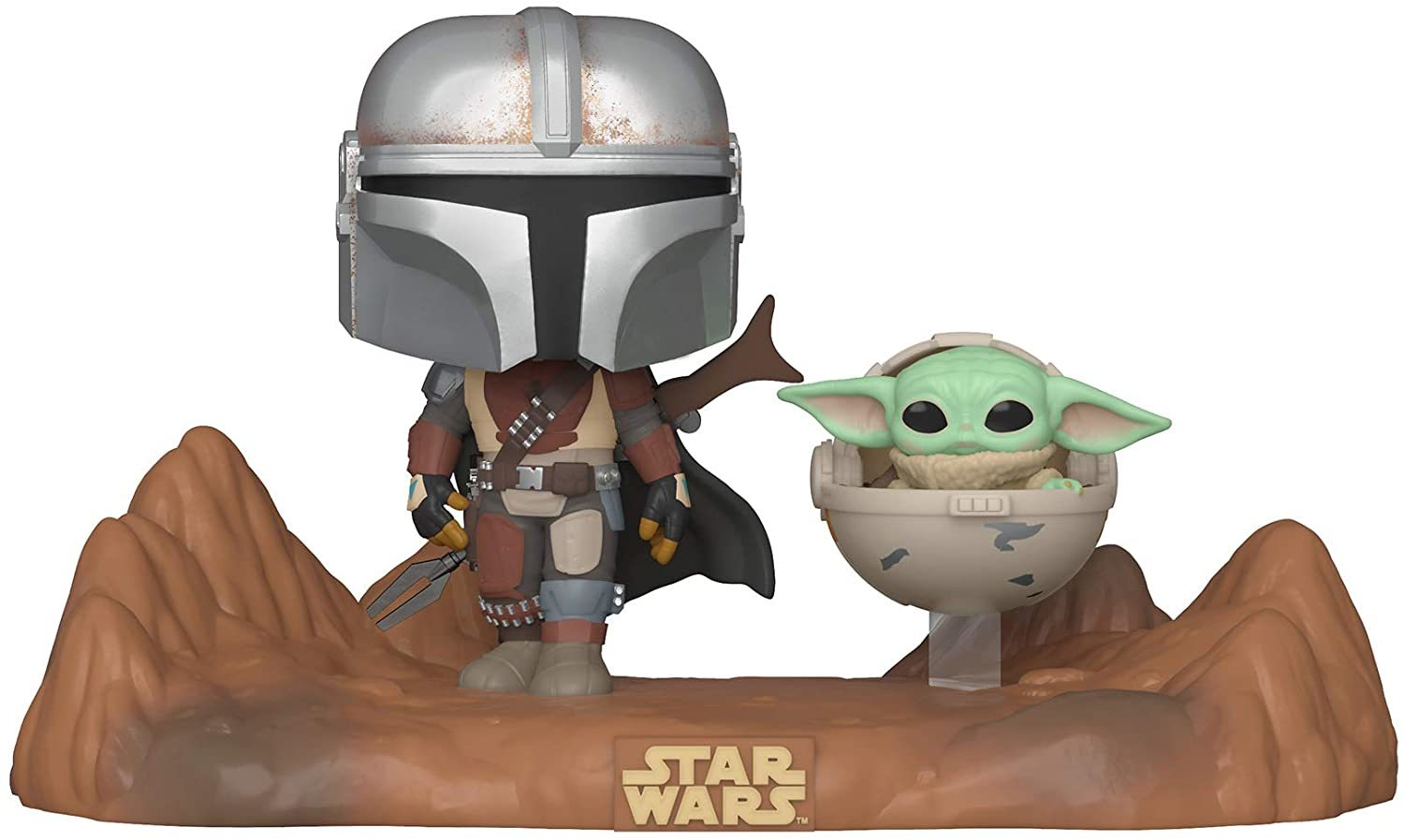 Star Wars: The Mandalorian (with The Child) - Pop! Television Moment Figure image