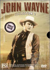 John Wayne Collection 2  (4 movies on 2 discs) on DVD