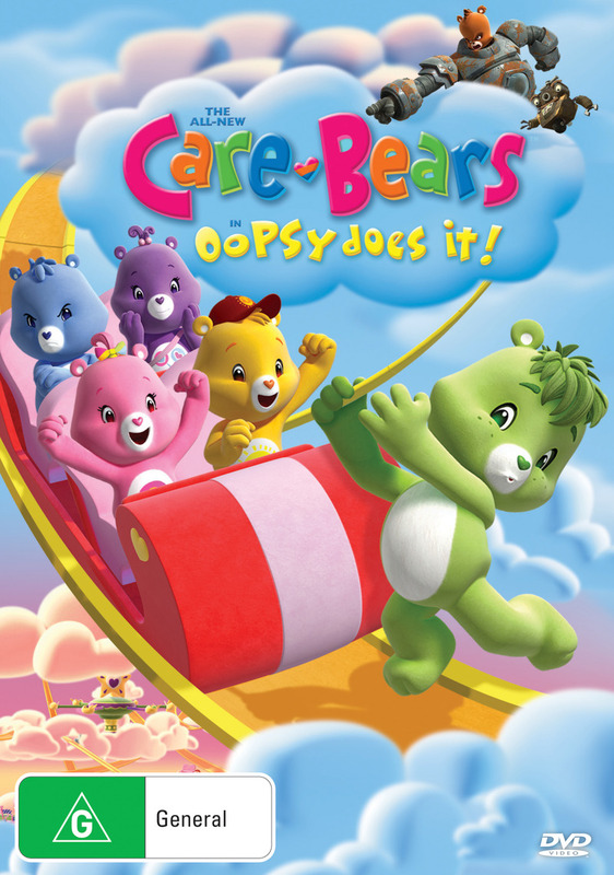 The All-New Care Bears - Oopsy Does It! on DVD