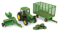 John Deere: 1:64 JD 6R Tractor & Accessories