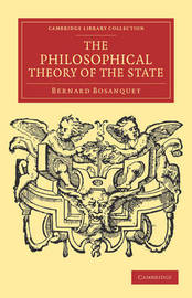 Cambridge Library Collection - Philosophy by Bernard Bosanquet